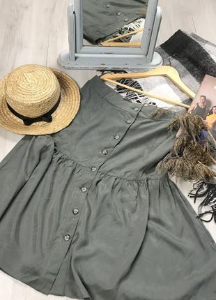 N8  юбка оливковая laura ashley