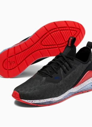 Puma cell descend shift men's sneakers  кросівки чоловічі чорні