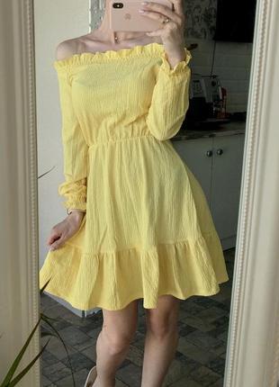 Нежное платье mohito 💛