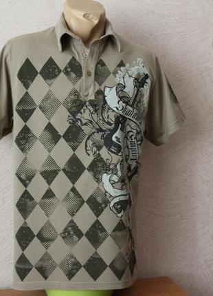 Okay  тенниска трикотажная рубашка - тонкий трикотаж