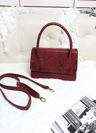 Элегантная женственная сумочка клатч с одной ручкой