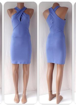 """Стильное облегающее брендовое платье """"h&m"""". размер uk 8/eur 36."""