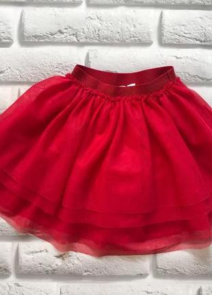 H&m красивая юбка-пачка на девочку 4-5 лет