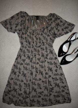 Платье вискоза h&m