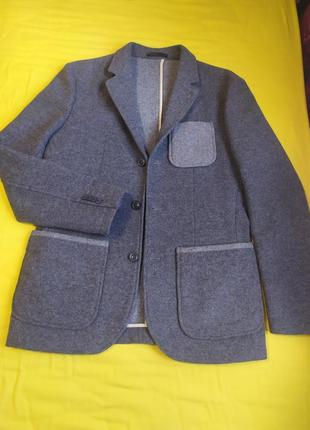 Jack & jones premium authentic casual блейзер жакет пиджак шерстяной 46 - 48 р