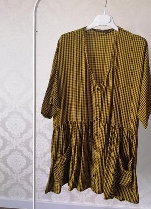 Zara платье-туника оверсайз