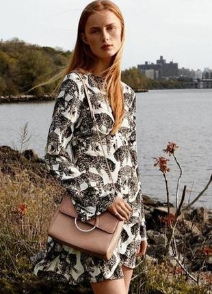 💔 стильна віскозна сукня/плаття з котиками від h&m, на р. s/xs 💔