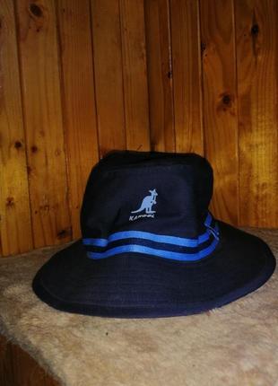 Kangol панамка панама шляпа кангол кэнгол синя