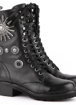 Ботинки берцы женские sasha fabiani