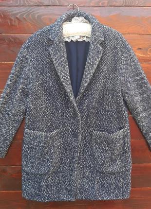 Плащ,пальто от бренда zara basic( оверсайз)