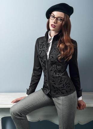 Дизайнерская летняя кофта блуза с вышивкой nara camicie большой размер l xl недорого