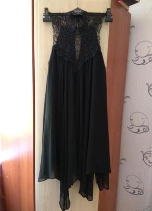 Маленькое чёрное платье river island