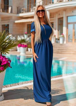 Роскошные стильные платья в пол, размеры xs-s (42-44)