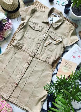 Джинсовое платье zara из последних коллекций.