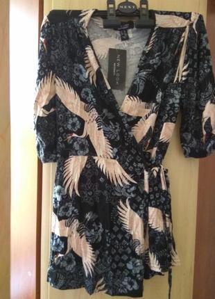 Новая женская блузка на запах new look