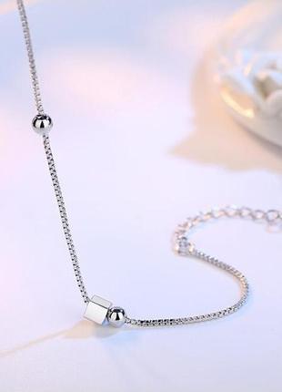Серебряный браслет, серебро 925