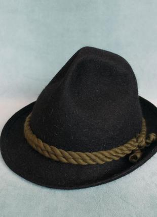 """Furst hohenberg шляпа фетровая в альпийском стиле """"тиролька"""""""