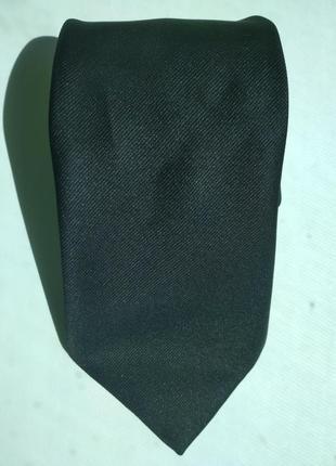Чёрный мужской галстук m&s