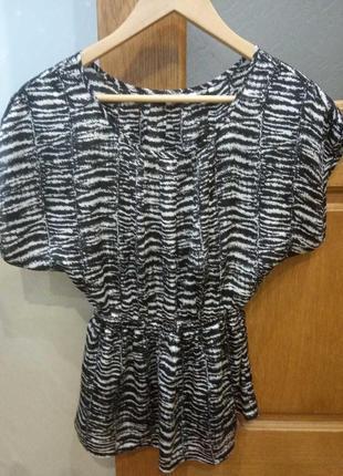 Шёлковая блуза размер s