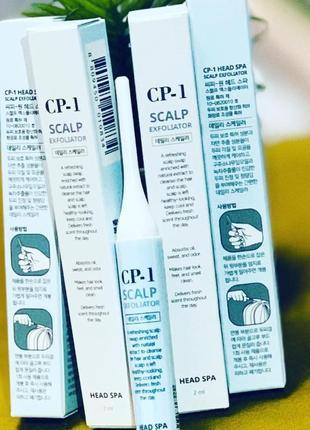 Очищающая пилинг-палочка для кожи головы esthetic house cp-1 head spa scalp exfoliator