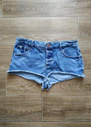 River island джинсовые секси шортики р.m