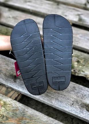 Шикарные женские сланцы шлёпанцы пляжные тапочки off-white чёрные с белым5 фото