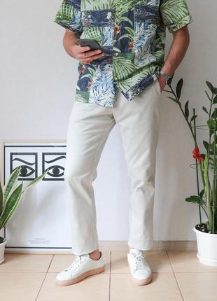 Шикарнейшие зауженные брюки чинос от e92