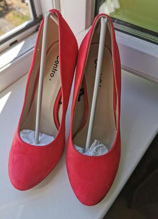 Туфли коралловые