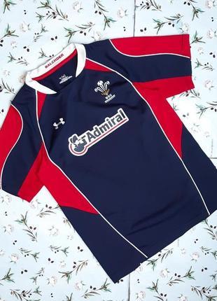 🌿1+1=3 крутая мужская спортивная футболка under armour, размер 44 - 46