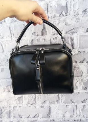 Женская кожаная сумка жіноча шкіряна