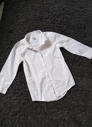 Котонова біла рубашечка,сорочка
