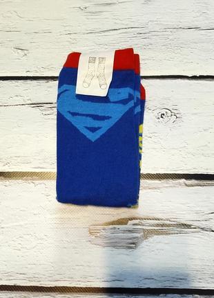 Супер носки на супер мальчика супермен 37-39