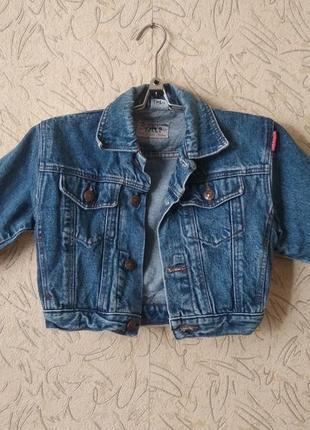 Джинсовая куртка рн.2-3-4 г