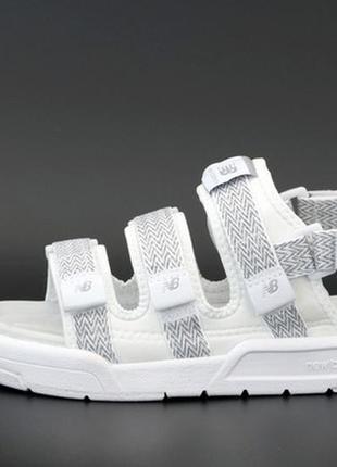 🌿new balance sandals white reflective🔰36рр - 45рр🔰сандали нью баланс летние