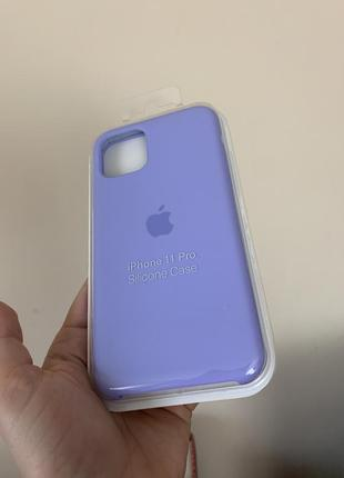 Silicone case чехол на iphone 11 pro1 фото