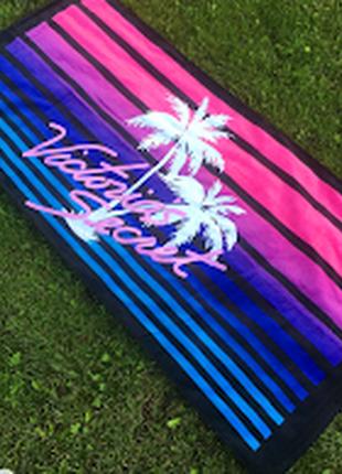 Пляжное полотенце виктория сикрет victoria's secret, оригинал