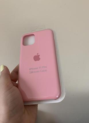 Silicone case чехол на iphone 11 pro