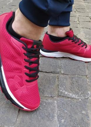Мужские кроссовки under armour красные ☄️