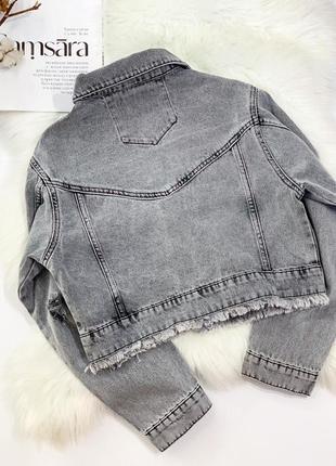 Джинсова куртка3 фото