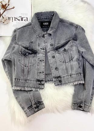Джинсова куртка2 фото