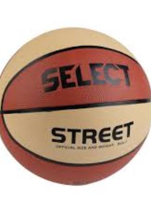 Новый баскетбольный мяч select basket street
