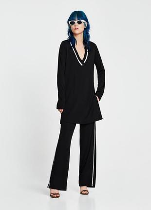 Zara контрастна туніка, розмір с-м