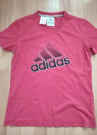 Футболка adidas, оригинал, xs