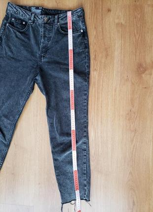 Джинси джинсы h&m mom jeans high waist ankle lenght eur 40 uk12