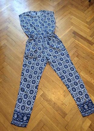 Стильный,летний комбинезон,брюки,штапель,pepe jeans