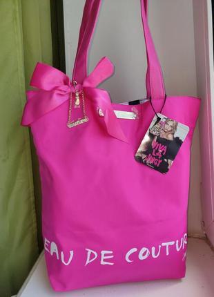 Новая летняя сумочка- шоппер juicy couture