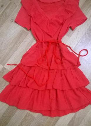 Moschino,оригинал, яркое, воздушное платье от кутюр