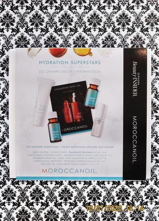 Набор moroccanoil 5 средств для ухода за кожей тела и волосами - масло для тела и волос