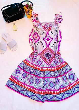 Стилное летнее платье
