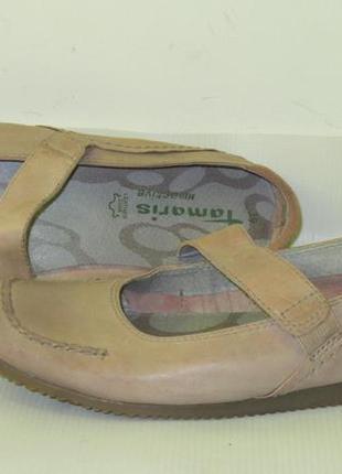 Туфлі балетки tamaris(германія) р.39, стелька 25см